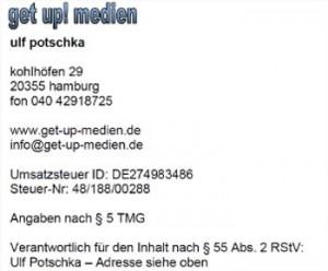 Impressum www.festgeld-vergleich-online.de